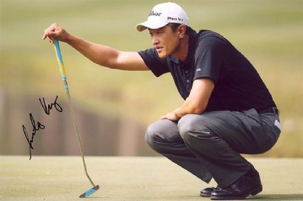 Anthony Kang, signed 12x8 inch photo.